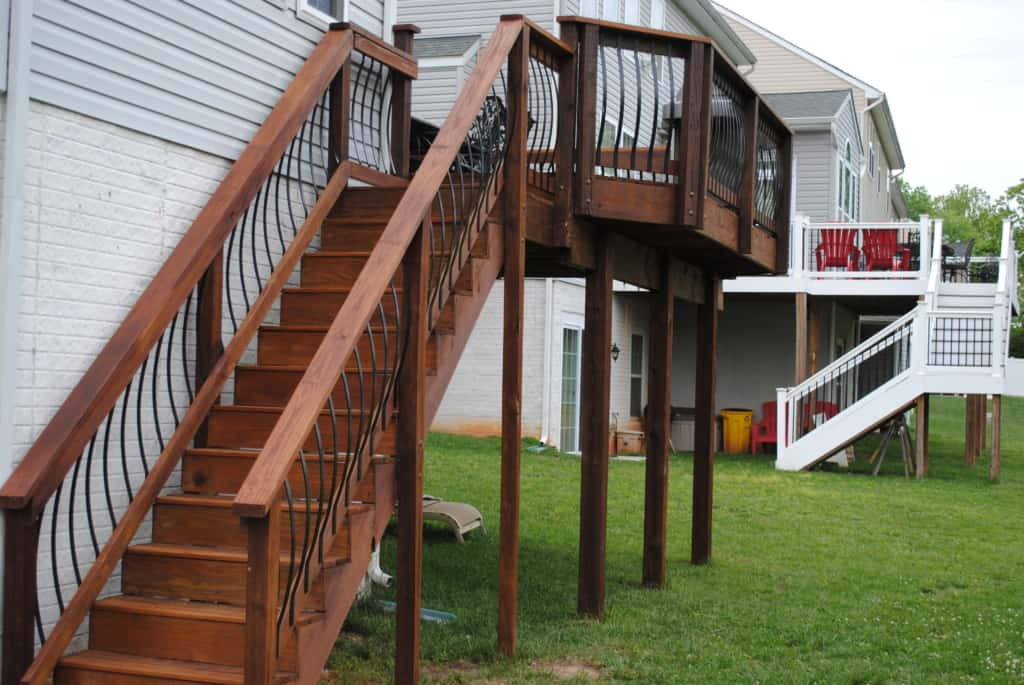 Linthicum heights deck modification- After