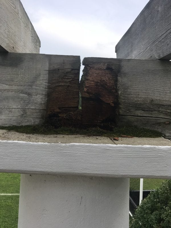 fixing deck supports